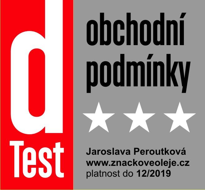 certifikát dTest