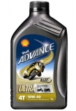 Shell ADVANCE ULTRA 4  10W-40 *1l