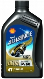 Shell ADVANCE ULTRA 4 15W-50 *1l