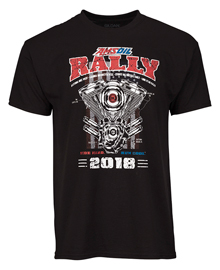 Amsoil 2018 Motorcycle Rally T-Shirt velikost L