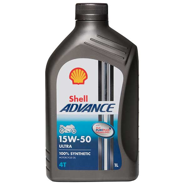 Shell ADVANCE ULTRA 15W-50*4l