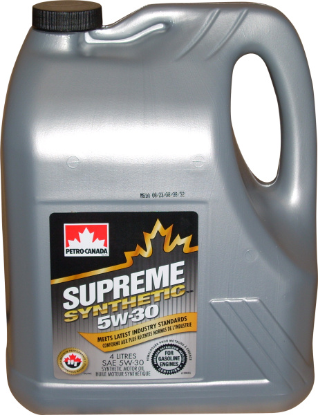 PETRO-CANADA SUPREME SYNTHETIC 5W-30 *4l