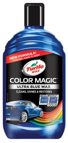 Turtle Wax COLOR MAGIC PLUS - modrý *500ml