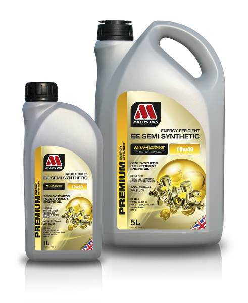 Millers Oils NANODRIVE EE Semi Synthetic 10W-40 *1l