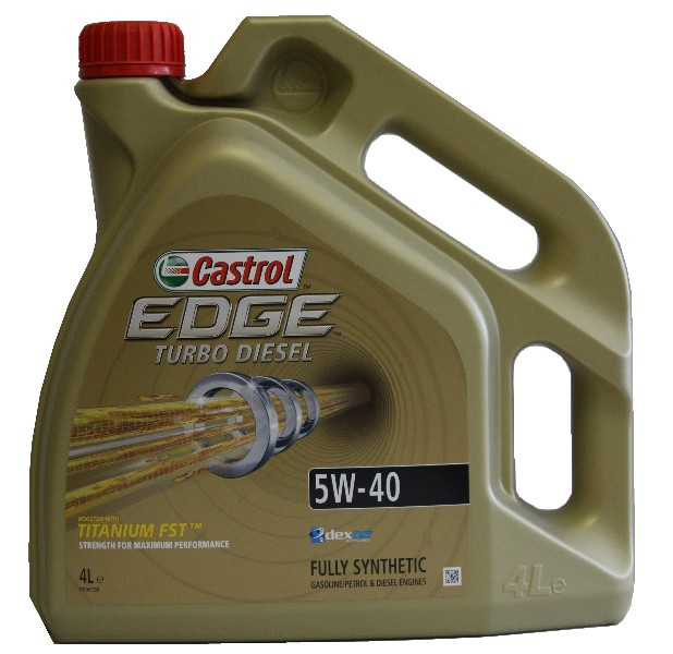 Castrol EDGE Turbo Diesel 5W-40 *4l