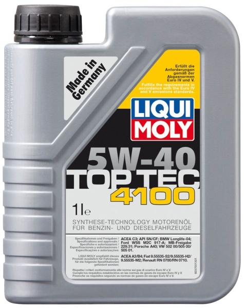 Liqui moly top tec 4100