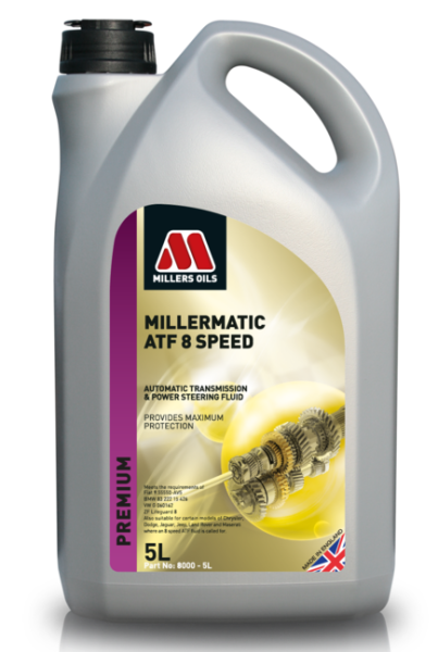 Millers Oils Millermatic ATF 8 Speed *5l