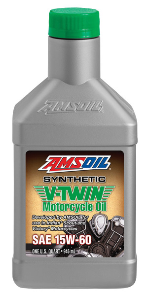 Amsoil Synthetic V-Twin Motorcycle Oil 15W-60 *1Q