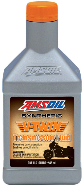 Amsoil Synthetic V-Twin Transmission Fluid 946 ml