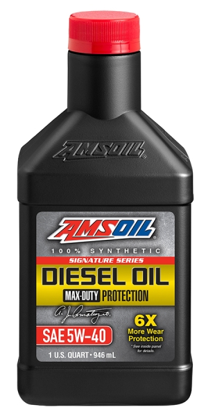 Amsoil Signature Series 5W-40 Max-Duty Synthetic Diesel Oil *0,946 l