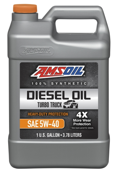 Amsoil Heavy-Duty Synthetic Diesel Oil 5W-40 3,78 l