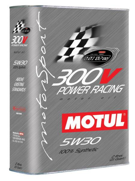 MOTUL 300V POWER RACING  5W-30 *2l