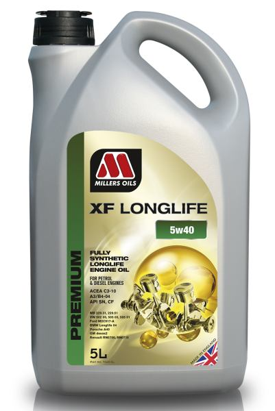 Millers Oils XF Long Life 5W-40 *5l