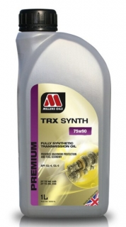 Millers Oils TRX Synth 75W-80 GL5 *1l