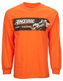 Amsoil Orange Moto Long Sleeve velikost XL