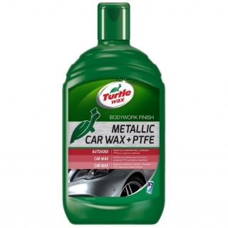 Turtle Wax Metallic Car Wax + PTFE *500ml