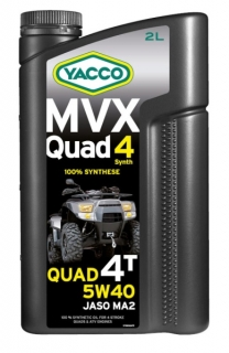 Yacco MVX QUAD Synth 5W-40 *2l