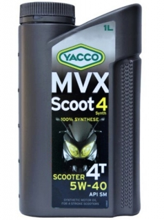 Yacco MVX SCOOT 4 Synth 5W-40 *1l