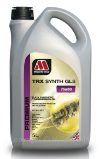 Millers Oils TRX Synth 75W-80 GL5 *5l