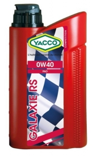 Yacco GALAXIE RS 0W-40 *1l
