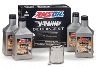 Amsoil V-Twin Oil Change Kit 20W-50 *1G
