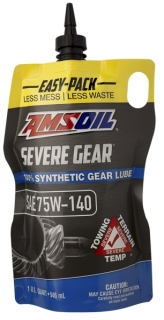 Amsoil Severe Gear 75W-140 Synthetic Gear Lube *0,946 l Easy Pack
