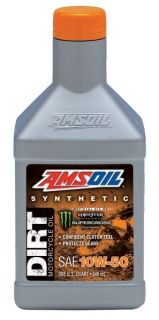 Amsoil 10W-50 Synthetic Dirt Bike Oil *0,946 l