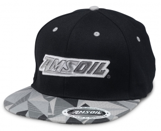 Amsoil Podium Cap (Gray/Black)