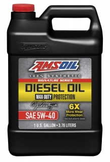 Amsoil Signature Series 5W-40 Max-Duty Synthetic Diesel Oil *3,78 l