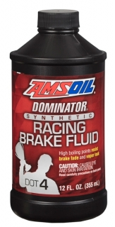 Amsoil DOMINATOR DOT 4 Synthetic Racing Brake Fluid 355 ml