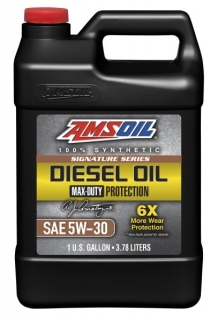 Amsoil Signature Series 5W-30 Max-Duty Synthetic Diesel Oil *3,78 l