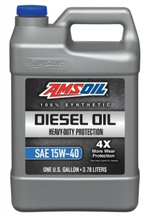 Amsoil Heavy-Duty Synthetic Diesel Oil 15W-40 *3,78 l