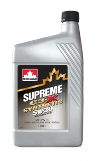 PETRO-CANADA SUPREME C3-X 5W-30 SYNTHETIC *1l