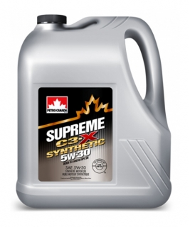PETRO-CANADA SUPREME C3-X 5W-30 SYNTHETIC *4l