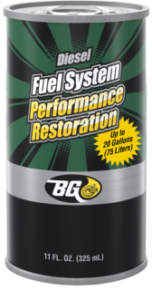 BG PD15 Diesel Fuel System Performance Restoration 325 ml