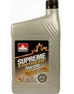 PETRO-CANADA SUPREME SYNTHETIC 5W-20 *1l